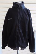Columbia TITANIUM Womens Polar Fleece & Nylon Jacket Black size XL