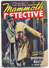 Mammoth Detective Pulp Magazine July 1947 Vol. 6 No. 7 Frank Gruber