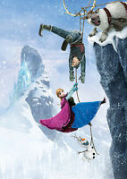 Frozen Movie Giant Poster - A0 A1 A2 A3 A4 Sizes