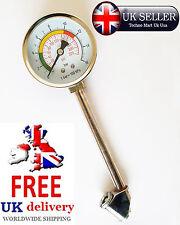 0 - 220 psi Car Tire Pressure Gauge Motorcycle Truck Cycle Dial Tyre Air Meter