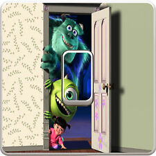 Monsters Inc Light Switch Vinyl Sticker Decal for Kids Bedroom #149