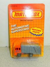 MATCHBOX REFUSE TRUCK- NEW ON CARD- L12