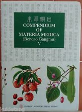 Compendium of Materia Medica Bencao Gangmu Chinese Herbal Medicine English Ed!