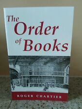 ORDER OF BOOKS - ROGER CHARTIER (PAPERBACK) NEW