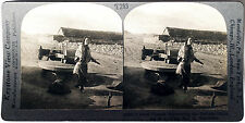 Keystone Stereoview of Grinding Grain at Mill in CHINA from the 1930's T400 Set