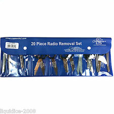 CONNECTS2 20 PIECE KEYS RADIO RELEASE MIXED KEY TYPE TOOLS SET PACK