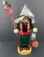 Steinbach Nutcracker Chubby Mountain Climber w/ Box, Signed by Creator 1997 S723
