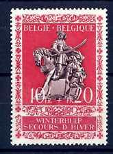 """BELGIUM - BELGIO - 1943 - Antiche statuette di """"San Martino"""""""