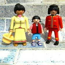 Playmobil 3 Asian / Chinese Figures Family Ref FAS1
