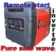 EFI 5500 W MAX 4000 W RATED SILENT INVERTER GENERATOR REMOTE START LCD DISPLAY