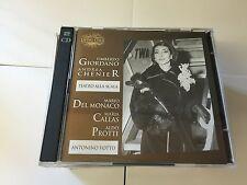 UMBERTO GIORDANO ANDREA CHENIER CALLAS DEL MONACO PROTTI  2 CD 3830025741889