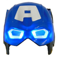 Light Up Captain America LED Mask for Party Halloween Cosplay Costume Props Toy