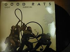 33 RPM Vinyl Good Rats Great American Music Great American Records  022715SM