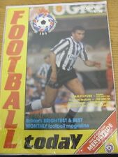 Oct-1987 Football Today Magazine: Vol 1 No 08 - Talk Of Your Town - Merseyside.