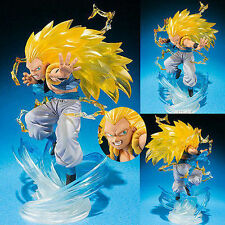 Anime Figure Toy Dragon Ball Z Super Saiyan Gotenks Figurine Statues 16cm