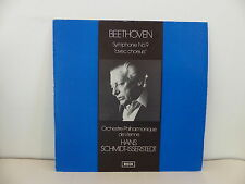 BEETHOVEN Symphonie n°9 avec choeurs dir SCHMIDT-ISSERSTEDT Decca