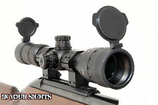 3-9x40 ao riflescope. lumineux réticule, antichoc rifle scope + fixations.