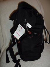 NWT Kipling RAYCHEL Backpack w Laptop Protection Black Furry Monkey