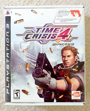 TIME CRISIS 4 + CALL OF DUTY 3 (Playstation 3 PS3) - RARE! Excellent Condition