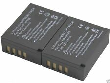 new 2pcs Battery + Dual Charger NP-W126 for X-A1 X-A2 X-E1 X-E2 X-M1 X-T1 NPW126