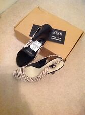 Beautiful ladies shoes next new size 4 zebra style ( no 7 )