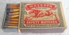 MAZEPPA - Made at Wenersborg in Sweden - SAFETY MATCHES