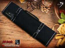 Portable Knife Bag 9 Slots For Japanese Chef Knife Folded Carry Bag/Roll NEW