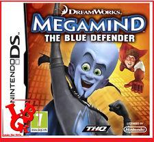 MEGAMIND Le Justicier Bleu DS 2Ds 3 DS Dreamworks jeu video Français # NEUF#
