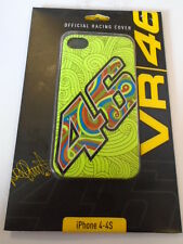 New Official VR46 Valentino Rossi Green Fluo Phone Case For iphone 4 iphone 4s