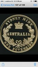 Australia  Sovereign Huge 190g 999 Silver gilded Medal coin