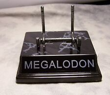 """THE ORIGINAL"" MEGALODON TOOTH DISPLAY STAND FOR MEGLADON SHARK TEETH MEGLADON"