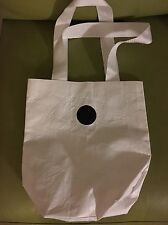 Lululemon Reusable Rare WHITE Tote Bag Travel Gym Shopping Lunch, Small