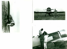 LOT OF 3: WILLIAMS #22 1932 R. TURNER'S 1ST RACING AIRPLANE PHOTOGRAPH SET #71