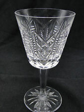 "Waterford Cut Glass Clare Claret Wine Glasses 5 7/8"" Clear Crystal"