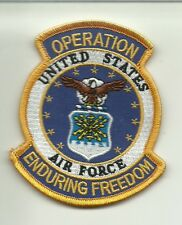 US AIR FORCE Enduring Freedom Veteran   PATCH