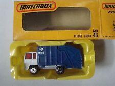 Matchbox Superfast Japanese 48 Refuse Truck