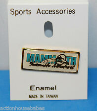 MAMMOTH SNOWMOBILE ADVENTURES SKI/SKIING/PIN/BADGE/RESORT/MOUNTAIN CALIFORNIA