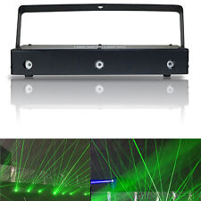 150mW 3 Green Laser Linear Beam DJ Party Light Club DMX Sound Activated Scanner