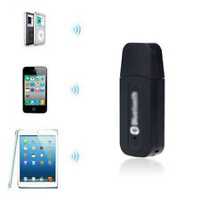 USB Bluetooth Music Receiver Adapter 3.5mm Stereo Audio for iPhone Mp3  US
