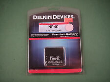 New Delkin Camera Battery for Casio NP-40