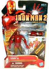 IRON MAN MARK VI #10 Iron Man 2 Movie Series 3.75 Inch Action Figure