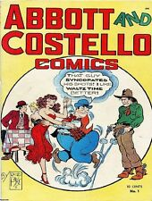 ABBOTT AND COSTELLO GOLDEN AGE COMICS PDF FORMAT ON CD