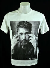 Al Pacino the god father Punk Rock White crew tee T-shirt Size M