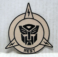 "Transformers NEST Desert Camo Logo 3.5"" Uniform Patch- FREE S&H  (TRPA-14)"