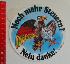 Aufkleber/Sticker: Deutsche Mark - Noch mehr Steuern? Nein Danke (24061652)