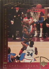 MICHAEL JORDAN 1994 UPPER DECK LIMITED BASKETBALL HEROES #41 CARD