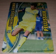 CARD CALCIATORI PANINI 2005-06 CHIEVO PELLISSIER CALCIO FOOTBALL SOCCER ALBUM