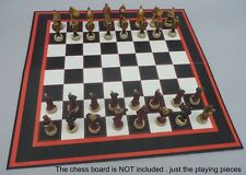 Hand Painted Chess Set by Studio Anne Carlton