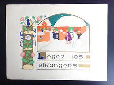 Très jolie ancienne illustration enfantine Jeanne Hebbelynck image pieuse