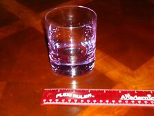 "RARE MOSER HEAVY CRYSTAL 4"" TUMBLER COCKTAIL GLASS PURPLE/ LAVENDER BEAUTIFUL!!!"